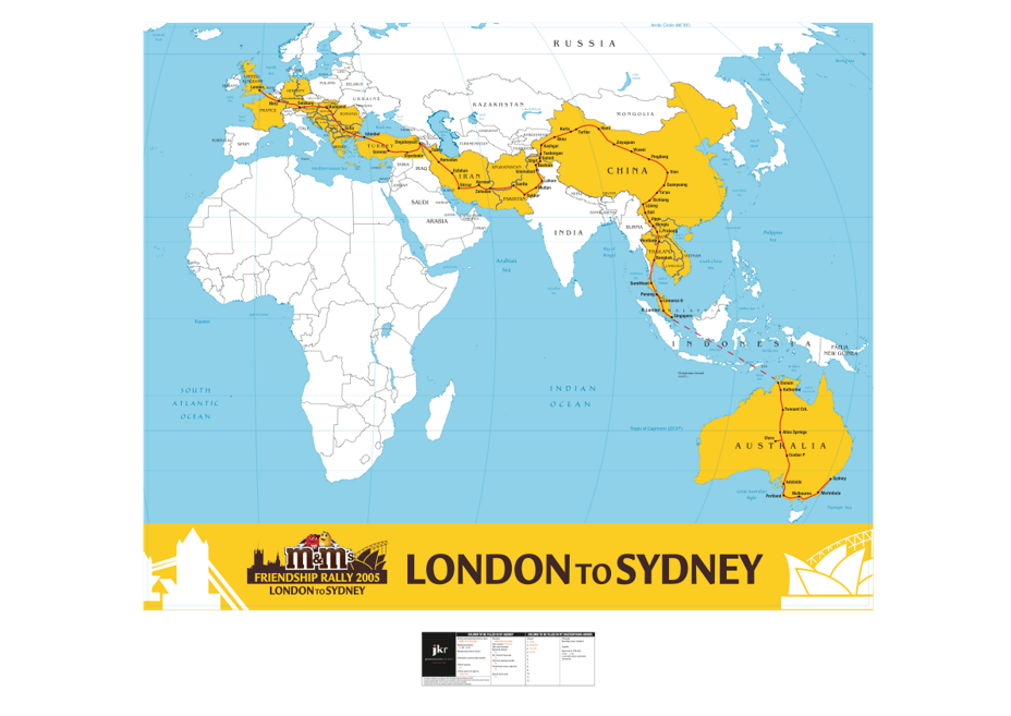 London to Sydney 2005